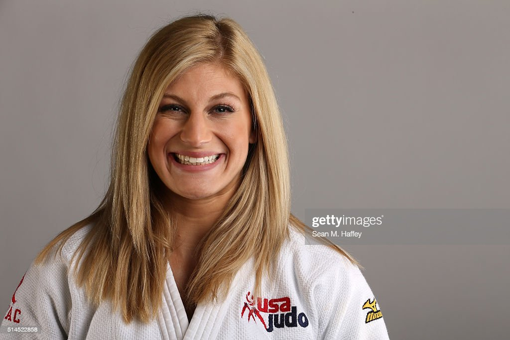 Judo athlete <a gi-track='captionPersonalityLinkClicked' href=/galleries/search?phrase=Kayla+Harrison&family=editorial&specificpeople=7179048 ng-click='$event.stopPropagation()'>Kayla Harrison</a> poses for a portrait at the 2016 Team USA Media Summit at The Beverly Hilton Hotel on March 8, 2016 in Beverly Hills, California.