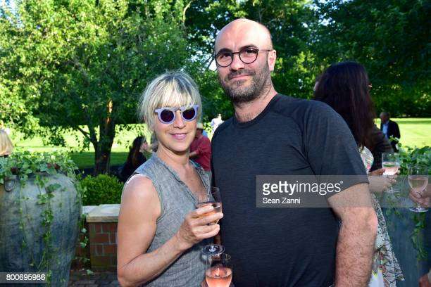 Judy Bellova and Arman Bellova attend Maison Gerard Presents Marino di Teana A Lifetime of Passion and Expression at Michael Bruno and Alexander...