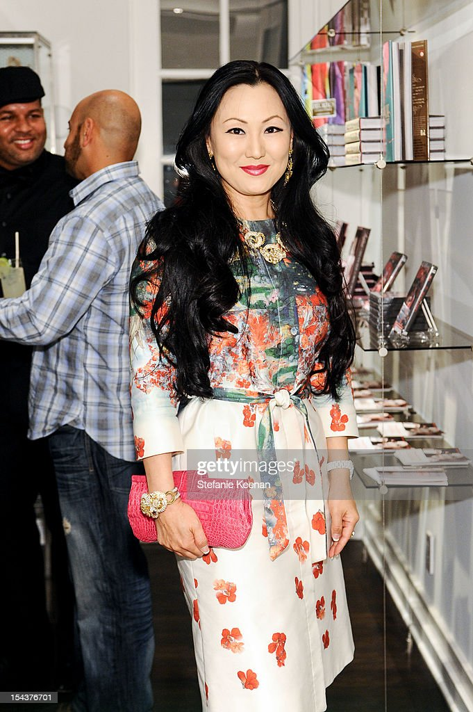 Judy Chang attends Dita Von Teese Collection Launch At Decades on October 18, 2012 in Los Angeles, California.