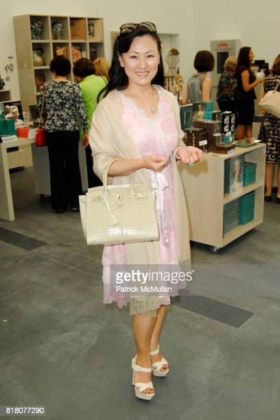 Judy Chang attends LACMA Costume Council Luncheon at Los Angeles County Museum of Art on September 29 2010 in Los Angeles California