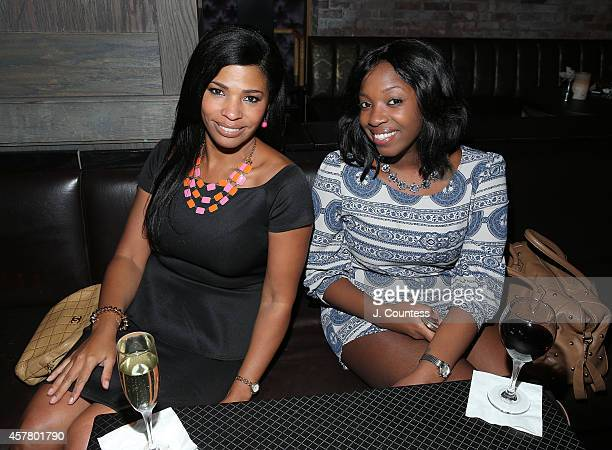 Judy Clark and Ty Williams attend the 'Kicked It In Heels' 3rd Annual Fundraiser at TAO Downtown on October 23 2014 in New York City