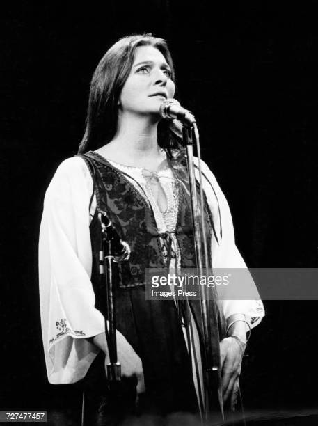 Judy Collins in Concert circa 1972 in New York City