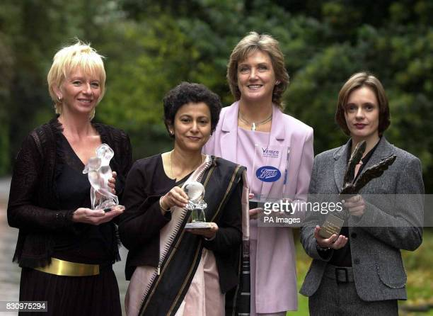 Judy Cramer producer of Mamma Mia Irene Khan Amnesty International Secretary General Pat Radcliffe mother of Paula Radcliffe and Leah Pattison who...