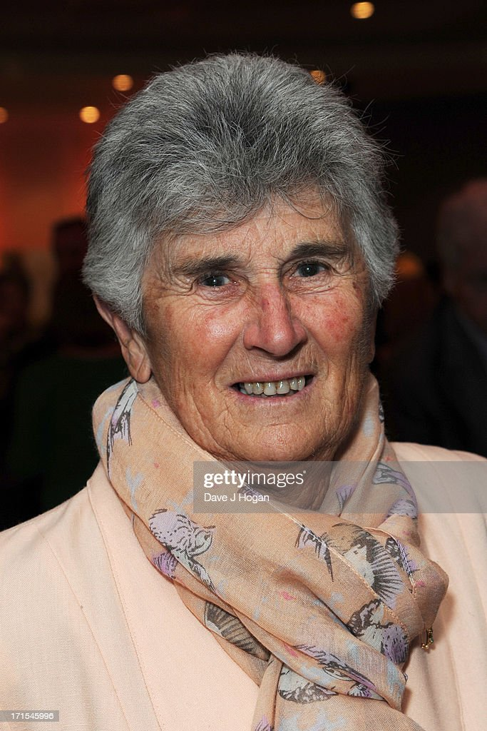Judy Dalton attends the UK premiere of 'Battle Of The Sexes' at The Vue Leicester Square on June 26, 2013 in London, England.