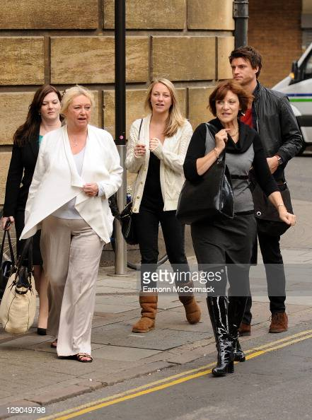 Judy Finnegan Chloe Madeley And Jack Madeley Arrive As Richard