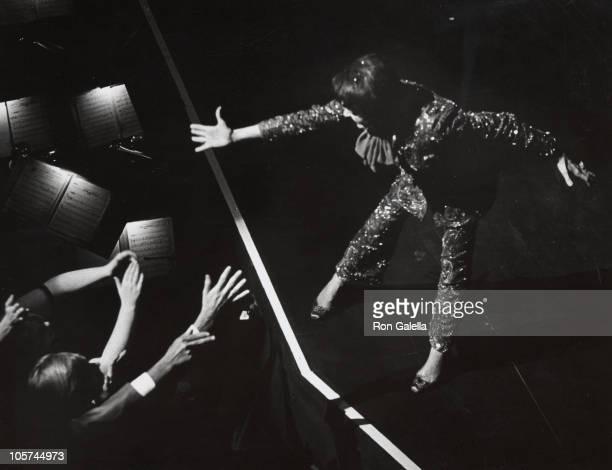Judy Garland during Judy Garland Performance at The Palace Theater July 31 1967 at The Palace Theater in New York City New York United States