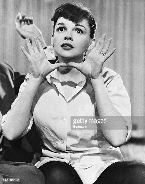 Judy Garland in a scene from A Star is Born The film marks her comeback after the termination of her contract by MGM four years earlier