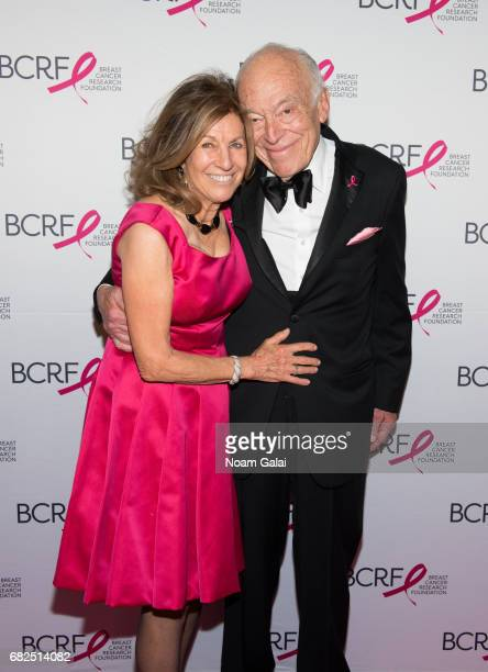 Judy Glickman Lauder and Leonard Lauder attend the 2017 Breast Cancer Research Foundation Hot Pink Party at Park Avenue Armory on May 12 2017 in New...