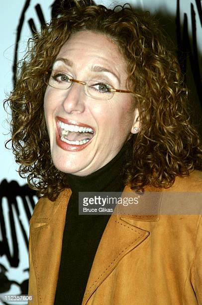 Judy Gold during Whoopi Goldberg Opens in 'Whoopi' on Broadway Afterparty at The China Club in New York City New York United States