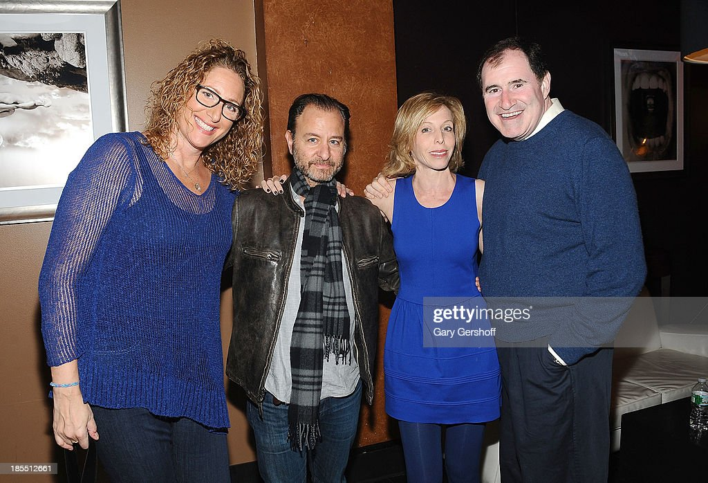 Judy Gold, Fisher Stevens, Maddie Corman and Richard Kind attend the Paul Rudd 2nd Annual All-Star Bowling Benefit supporting Our Time at Lucky Strike on October 21, 2013 in New York City.