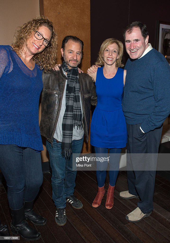 Judy Gold, Fisher Stevens, Maddie Corman, and Richard Kind attend the Paul Rudd 2nd Annual All-Star Bowling Benefit at Lucky Strike on October 21, 2013 in New York City.