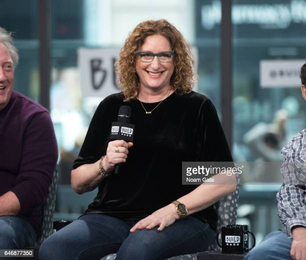 Judy Gold visits Build Series to discuss 'The Last Laugh' at Build Studio on February 28 2017 in New York City