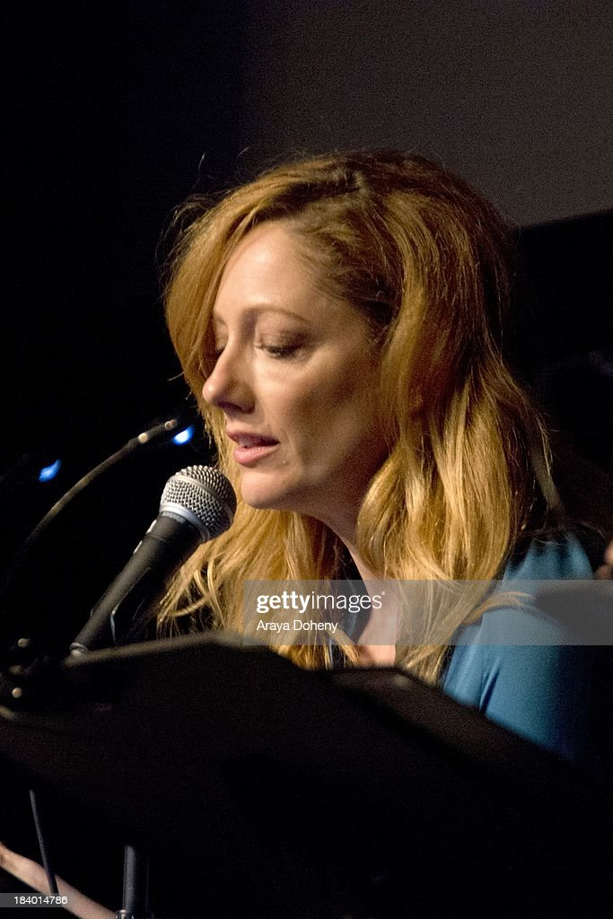 Judy Greer at the Film Independent at LACMA - 'Boogie Nights' live read directed by Jason Reitman at Bing Theatre At LACMA on October 10, 2013 in Los Angeles, California.
