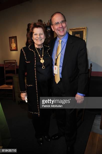 Judy Hart Angelo and John Russell attend THE AMERICAN ANTIQUES SHOW BENEFIT PREVIEW Celebrates TEXAS Sponsored by The Magazine ANTIQUES at...