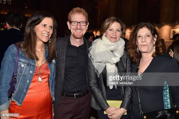 Judy Hudson Ron Kaplan Toni Ross and Betsy Sussler attend BOMB's 36th Anniversary Gala Art Auction at Capitale on May 5 2017 in New York City