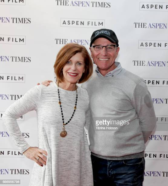 Judy Kain and Steve Barnes attend the filmmakers breakfast session at the 2017 Aspen Shortsfest on April 9 2017 at the Wheeler Opera House in Aspen...