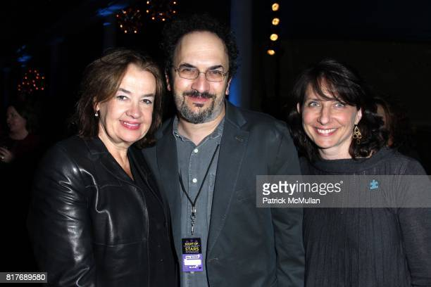 Judy McGrath Robert Smigel and Michele Ganeless attend NIGHT OF TOO MANY STARS at American Museum of Natural History on October 2 2010 in New York...