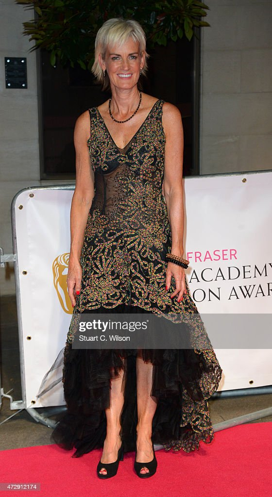 Judy Murray attends the After Party dinner for the House of Fraser British Academy Television Awards (BAFTA) at The Grosvenor House Hotel on May 10, 2015 in London, England.