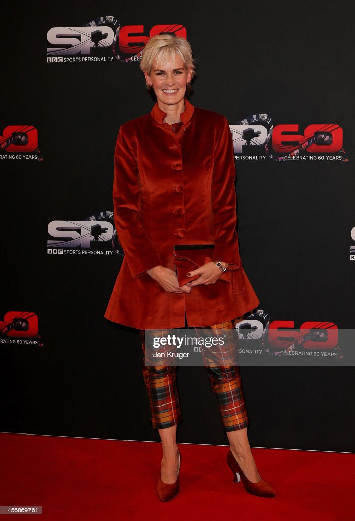 <a gi-track='captionPersonalityLinkClicked' href=/galleries/search?phrase=Judy+Murray&family=editorial&specificpeople=582324 ng-click='$event.stopPropagation()'>Judy Murray</a> attends the BBC Sports Personality of the Year Awards at First Direct Arena on December 15, 2013 in Leeds, England.