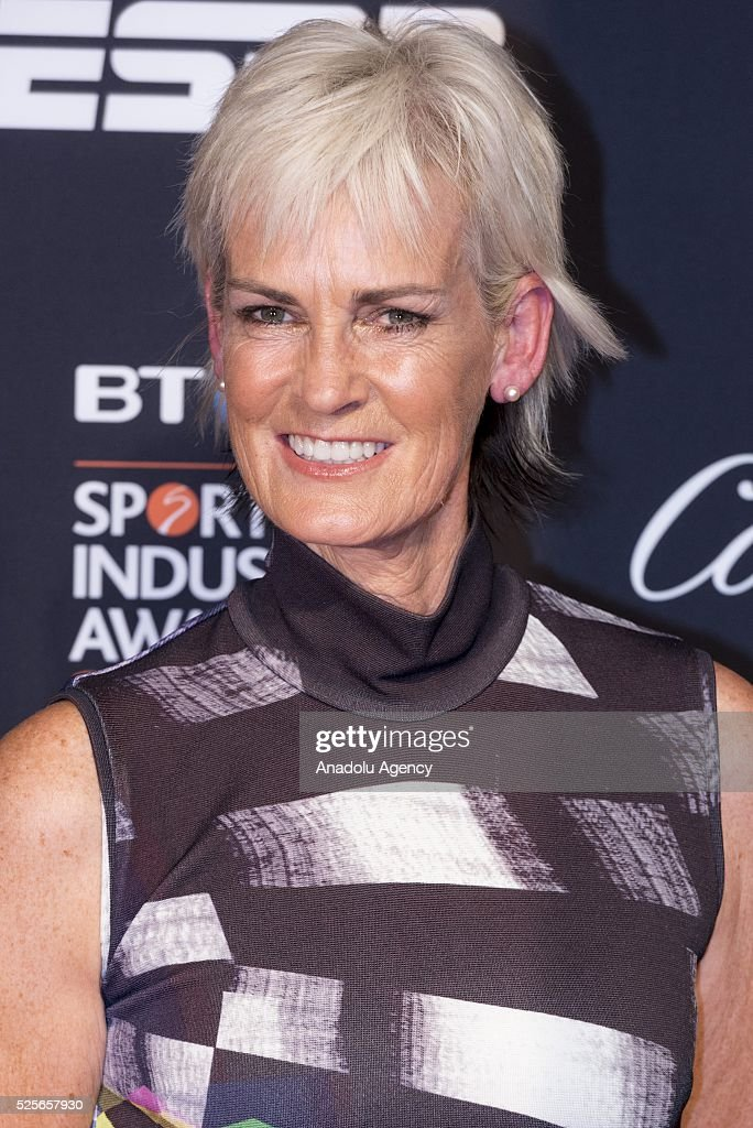 Judy Murray attends the BT Sport Industry Awards 2016 in London, United Kingdom on April 28, 2016.