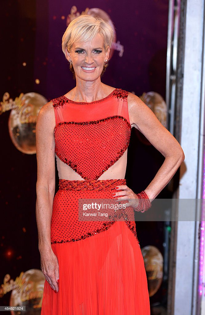 Judy Murray attends the red carpet launch for Strictly Come Dancing 2014 at Elstree Studios on September 2, 2014 in Borehamwood, England.