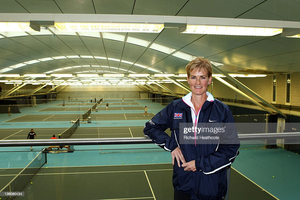 Judy Murray poses for a picture as she is announced as the Fed Cup Captain during a LTA Press Conference at the LTA Tennis Centre in Roehampton on December 19, 2011 in London, England.