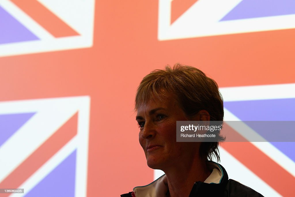 Judy Murray speaks to the media as she is announced as the Fed Cup Captain during a LTA Press Conference with Judy Murray and Leon Smith at the LTA Tennis Centre in Roehampton on December 19, 2011 in London, England.