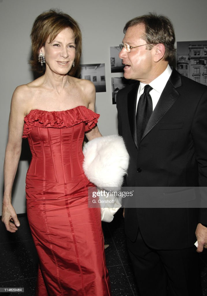 Judy Ovitz and Michael Ovitz during MoMA Party in the Garden to Honor Leon Black Debra Black and Martin Scorsese at The Abby Aldrich Rockefeller...