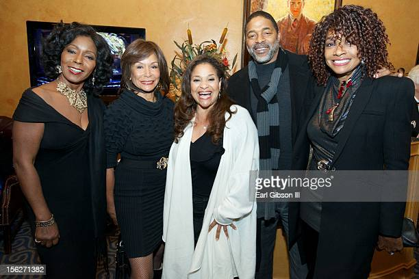 Judy Pace Freda Payne Debbie Allen Norm Nixon and Beverly Todd attend the opening night of the play 'Intimate Apparel' at the Pasadena Playhouse on...