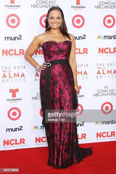 Judy Reyes arrives at the 2013 NCLR ALMA Awards held at Pasadena Civic Auditorium on September 27 2013 in Pasadena California