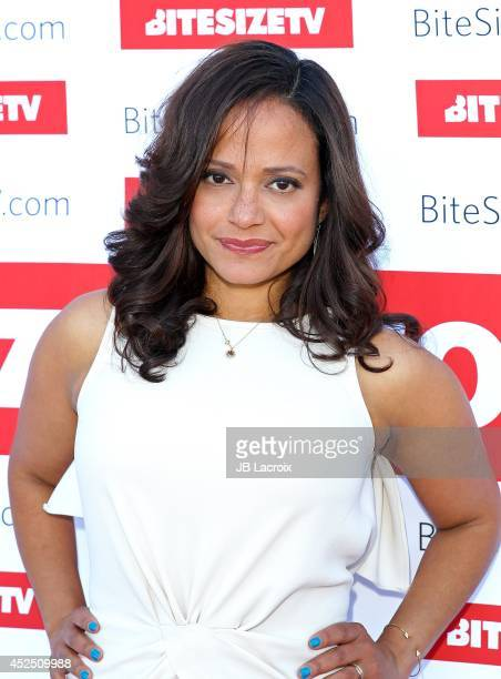 Judy Reyes arrives to Hollywood Today Live Studio on July 21 2014 in Hollywood California