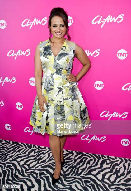 Judy Reyes attends the premiere of TNT's 'Claws' at Harmony Gold Theatre on June 1 2017 in Los Angeles California