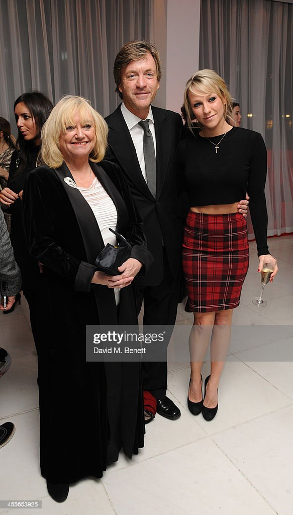Judy, Richard and <a gi-track='captionPersonalityLinkClicked' href=/galleries/search?phrase=Chloe+Madeley&family=editorial&specificpeople=880097 ng-click='$event.stopPropagation()'>Chloe Madeley</a> attends the pre-party for the English National Ballet's The Nutcracker at St Martin's Lane Hotel on December 12, 2013 in London, England.