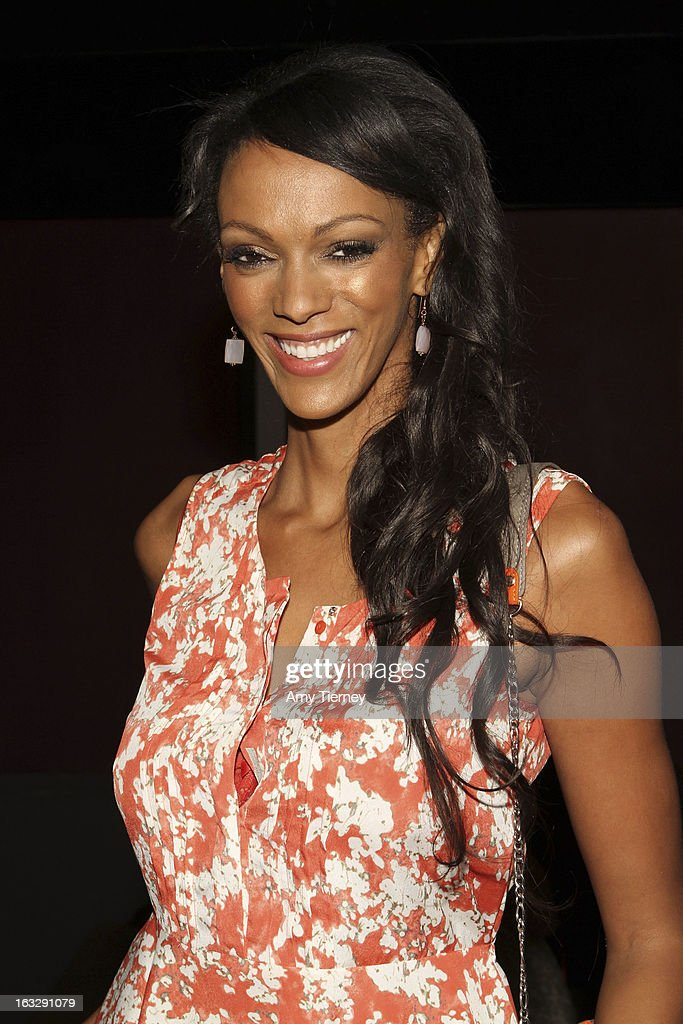 Judy Shekoni attends the Step Up Women's Network Women Who Rock Event at The Roxy Theatre on March 6, 2013 in West Hollywood, California.