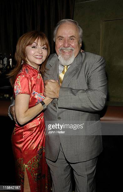 Judy Tenuta and George Schlatter during Norm Crosby Celebrates 40 Years In ShowBusiness and The Launch Of The 'Worlds Greatest Stand Up Comedy...