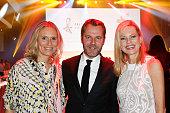 Judy Witten Daniel Bahr and Nina Ruge attends the Felix Burda Award 2016 on April 17 2016 in Munich Germany