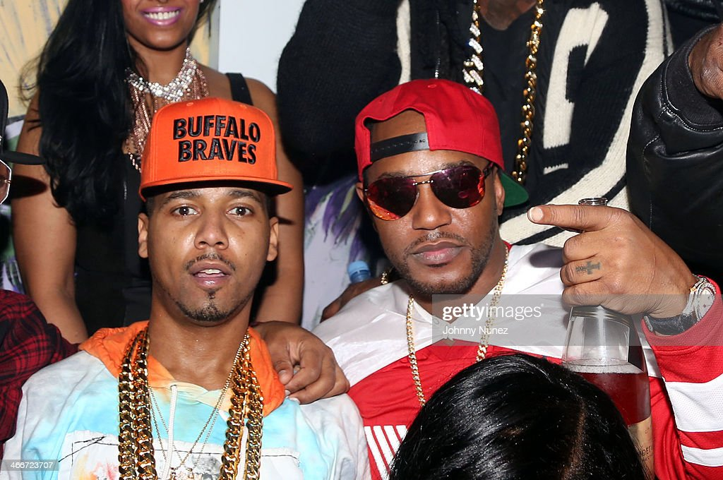 <a gi-track='captionPersonalityLinkClicked' href=/galleries/search?phrase=Juelz+Santana&family=editorial&specificpeople=608338 ng-click='$event.stopPropagation()'>Juelz Santana</a> and <a gi-track='captionPersonalityLinkClicked' href=/galleries/search?phrase=Cam%27ron&family=editorial&specificpeople=2085564 ng-click='$event.stopPropagation()'>Cam'ron</a> attend Camron's KillaBowl at WIP on February 2, 2014 in New York City.