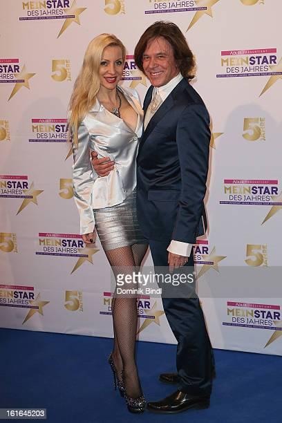 Juergen and Ramona Drews attend 'Mein Star des Jahres 2013' Awards in the Kehrwieder Theatre on February 13 2013 in Hamburg Germany