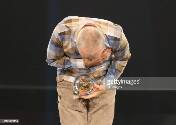 Juergen Domian wins the 1Live Krone during the 1Live Krone at Jahrhunderthalle on December 1 2016 in Bochum Germany