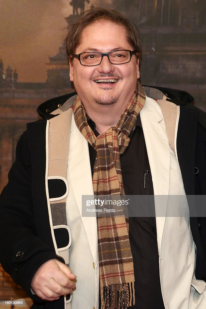 Juergen Tarrach attends 'Nacht Ueber Berlin' Preview at Astor Film Lounge on January 31, 2013 in Berlin, Germany.