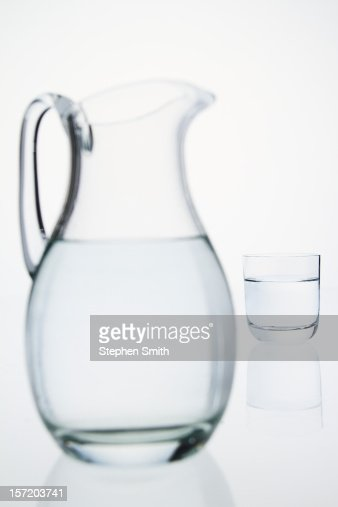 jug and glass of water