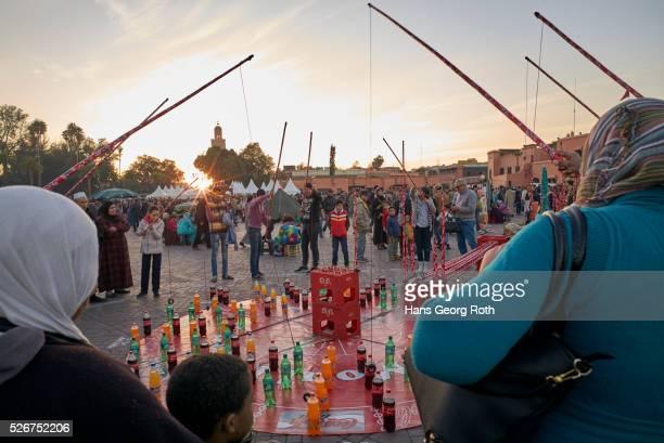 'Jugglers place' Place Djamaa el Fna
