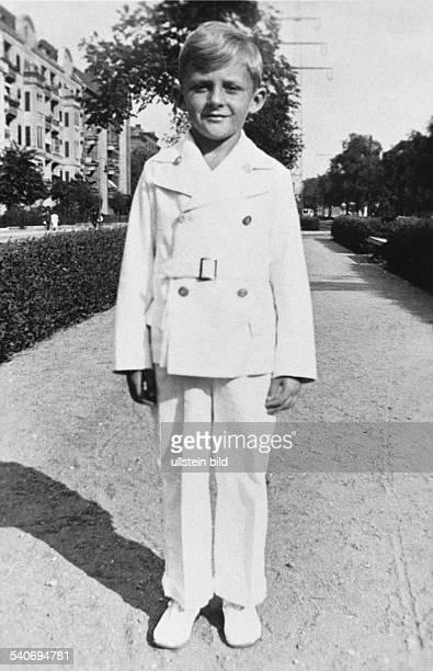 Juhnke Harald *Schauspieler Entertainer D als Achtjaehriger 1937