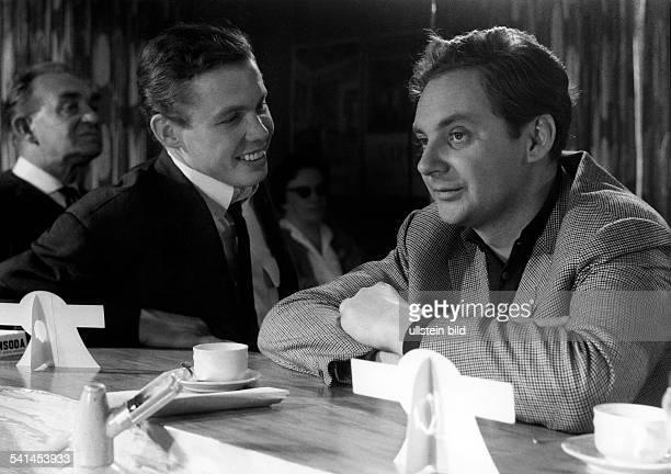 Juhnke Harald *Schauspieler Entertainer D mit Peter Kraus in dem Film 'Anno 20' April 1962