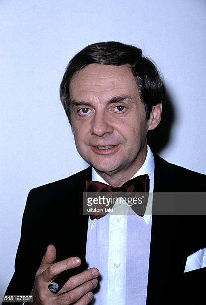 Juhnke Harald Actor Entertainer Germany 1975