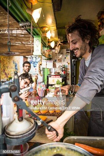 Juice maker, Tel Aviv, Israel