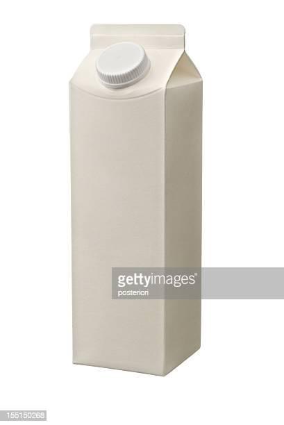 Juice Milk Yogurt carton