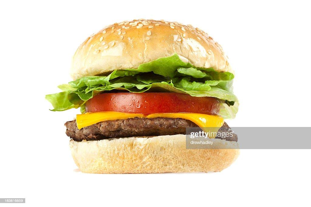 Juicy Beef Cheese Burger
