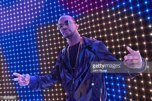 Juicy J visits BET's '106 Park' at BET Studios on March 7 2013 in New York City