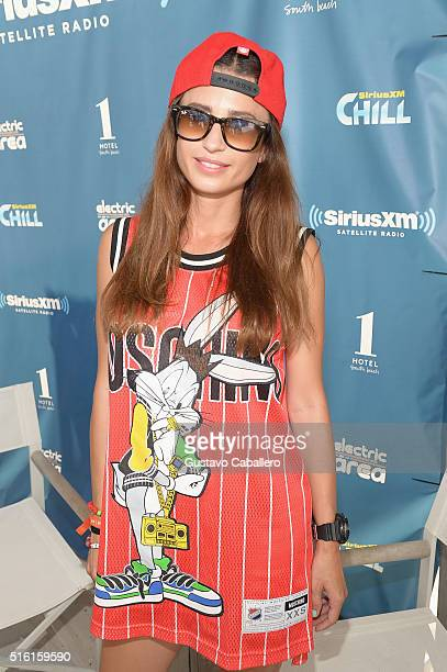 Juicy M attends SiriusXM Celebrates 10th Anniversary Of The SiriusXM Music Lounge At 1 Hotel South Beach Leading Up To Ultra Music Festival SiriusXM...